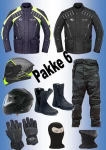 Bilde av   PAKKE 6, FULL PAKKE:  jakke,bukse,hjelm,støvler,hansker, halsv