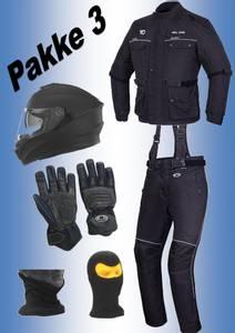 Bilde av      PAKKE 3:   jakke,bukse, hjelm,hansker,halsvarmere
