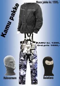 Bilde av     KAMU PAKKE   jakke,kamubukse,halsvarmere,balaklava
