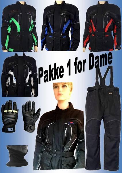 PAKKE 1 FOR DAME  Damejakke,bukse,hansker,halsvarmere