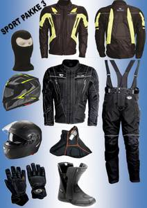 Bilde av      SPORT PAKKE 3: Full pakke, jakke,bukse,støvler,hjelm,hanske