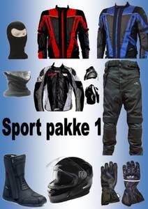 Bilde av   SPORT PAKKE 1:Full pakke jakke,bukse,støvler,hjelm,hansker,ha