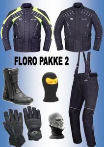Bilde av   FLORO PAKKE 2  jakke,bukse,støvler,hansker, halsvarmere,balakl