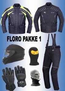 Bilde av     FLORO PAKKE 1: jakke,bukse,hjelm,hansker,halsvarmere,balakla