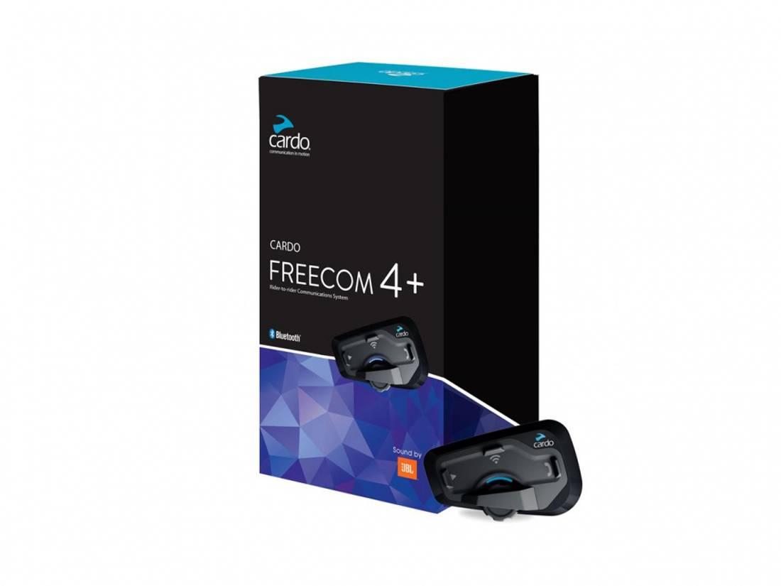 Cardo Freecom 4 + JBL Dobbeltsett