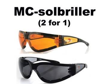 Bilde av MC-Solbriller 2 for 1