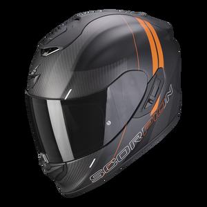 Bilde av Scorpion EXO-1400 CARBON AIR DRIK Sort/Oransje