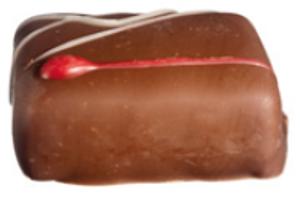 Bilde av Bringebær sjokolade 15 biter
