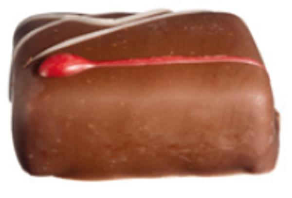 Bringebær sjokolade 15 biter