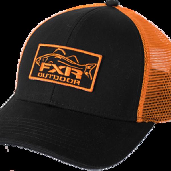 Bilde av Angler Hat 17-Black/Orange-OS