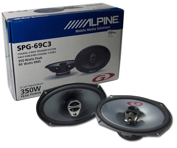 Bilde av Alpine SPG-69C3