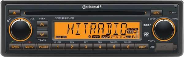 Bilde av CONTINENTAL 24V DAB-RADIO MED BLUETOOTH MED CD