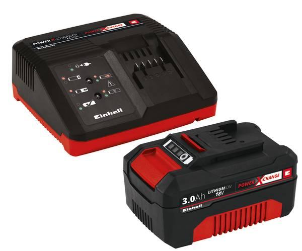 Bilde av Sett med lader og batteri 18 V 3,0 Ah P-X-C