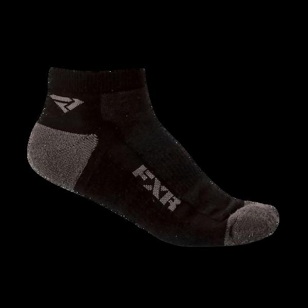 Bilde av 15 Turbo 1/4 Ankle Socks-M-Black/Charcoal