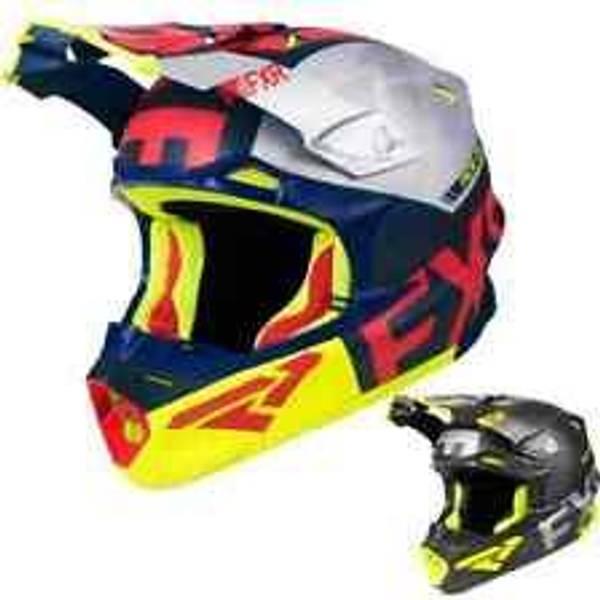 Bilde av Blade 2.0 Carbon Evo Helmet 19-Navy/Red/Hi