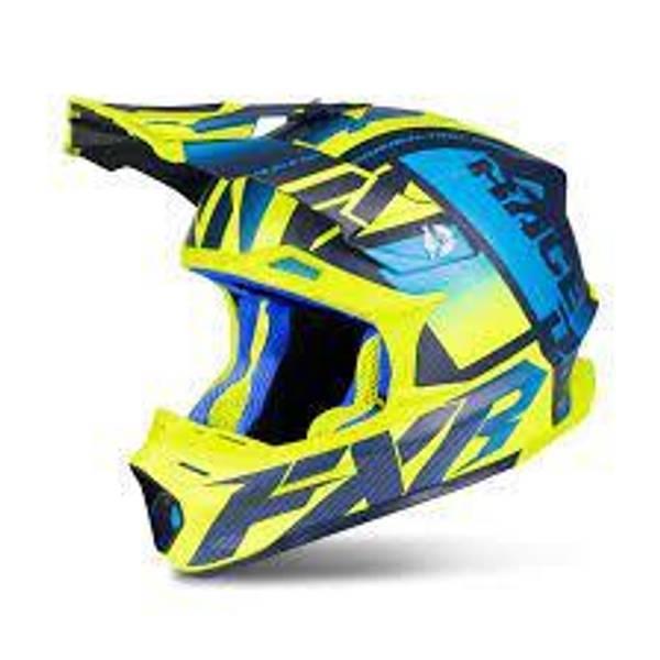 Bilde av Blade 2.0 Carbon Race Div Helmet 19-Blue/Hi