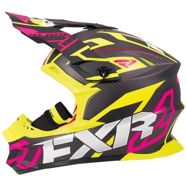 Bilde av Blade 2.0 Carbon Vertical Helmet 18-Black/Elec