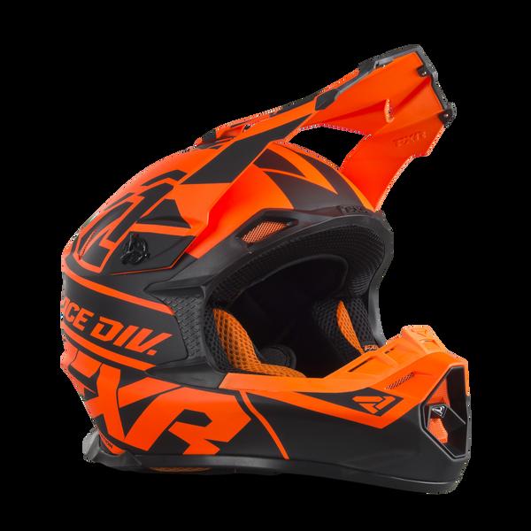 Bilde av Blade 2.0 Race Div Helmet 19-Black/Flo Org-2XL