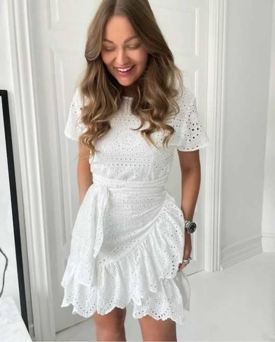 Bilde av BYIC AGNES WHITE DRESS