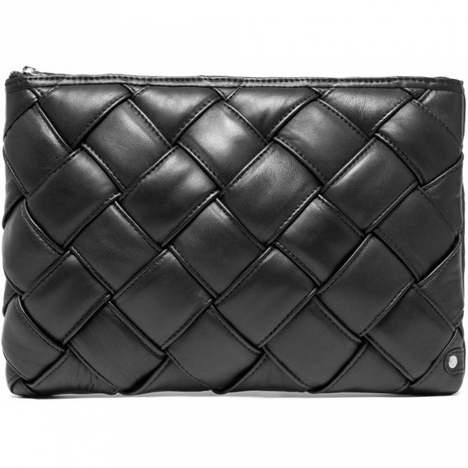 Bilde av LARGE CLUTCH LEATHER DECORATED WITH BUBBLE