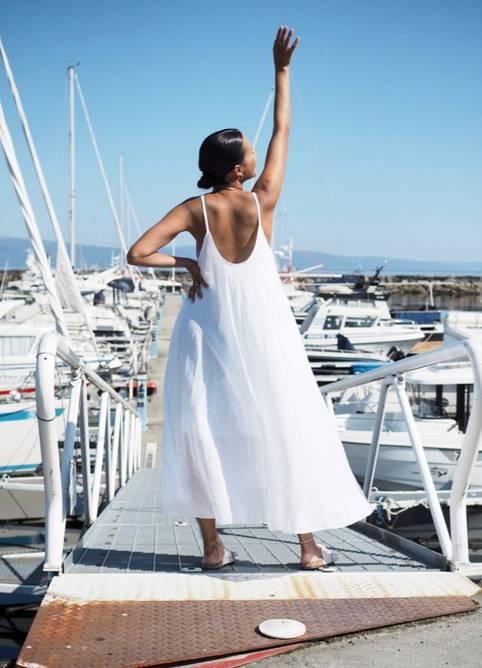 Bilde av Nectar Clothing - Manuela Dress - Bright White