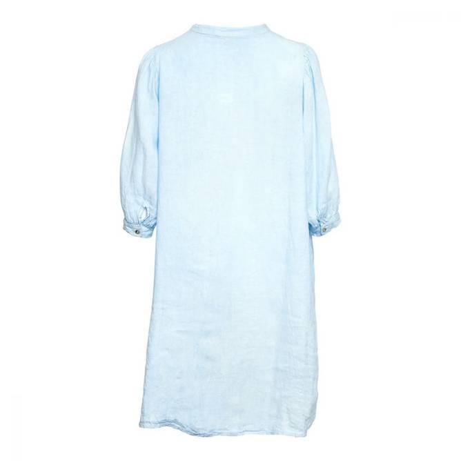 Bilde av Tiffany Ebbi Short Dress Linen, Lightblue