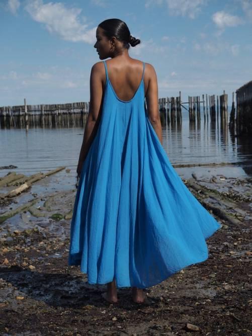 Bilde av Nectar Clothing - Manuela Dress - Persian Blue
