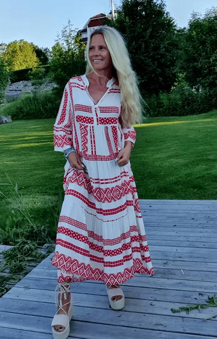 Bilde av GREEK DRESS RED