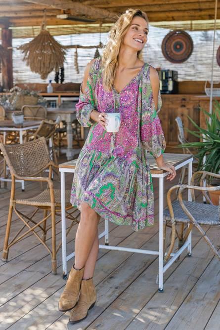 Bilde av MISSJUNE MEADOW DRESS