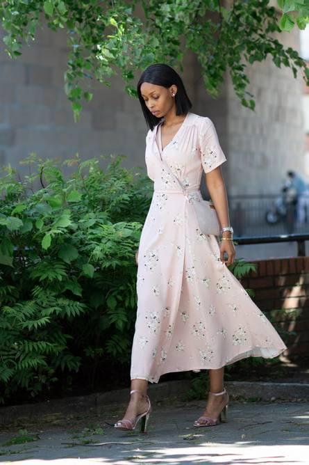Bilde av AGNETE WRAP DRESS