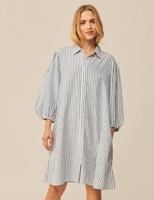 Bilde av MBYM TAIMI DRESS BLUE