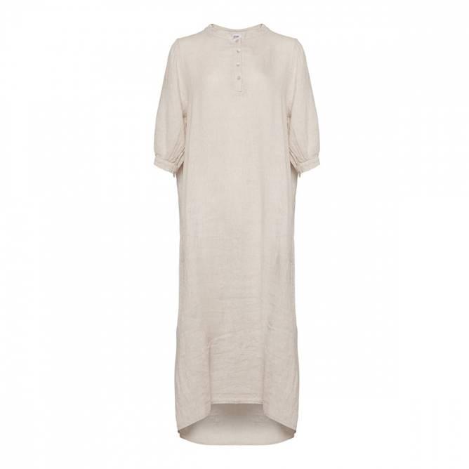 Bilde av TIFFANY Ebbi Long Dress Linen, Light Beige