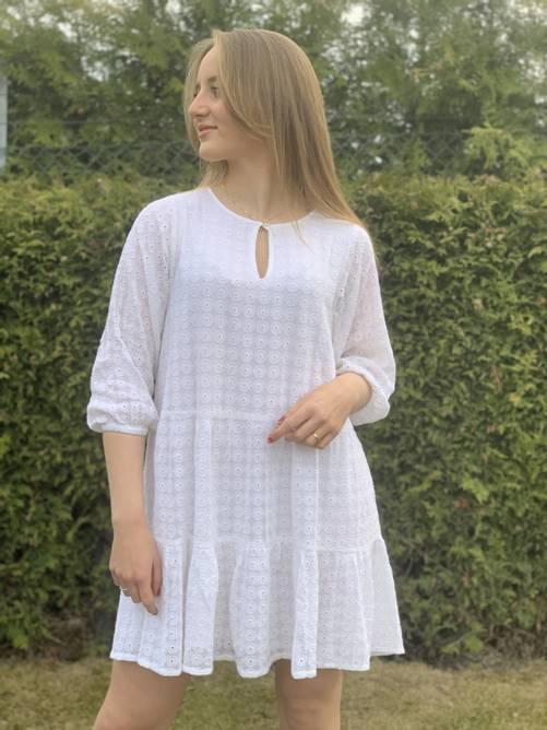 Bilde av PART TWO ESE DRESS WHITE