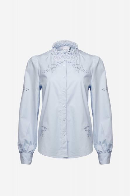 Bilde av Noella Lucille Shirt Cotton Light Blue