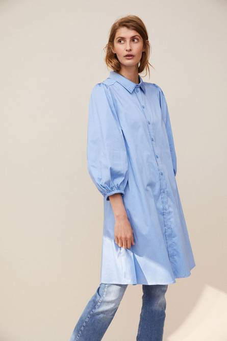 Bilde av PART TWO ELEINA DRESS VISTA BLUE