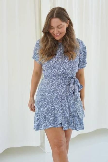 Bilde av BY IC AGNES DRESS- BLUE