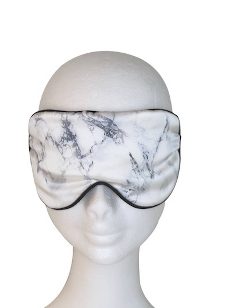 Putetrekk/Sovemaske - marmor