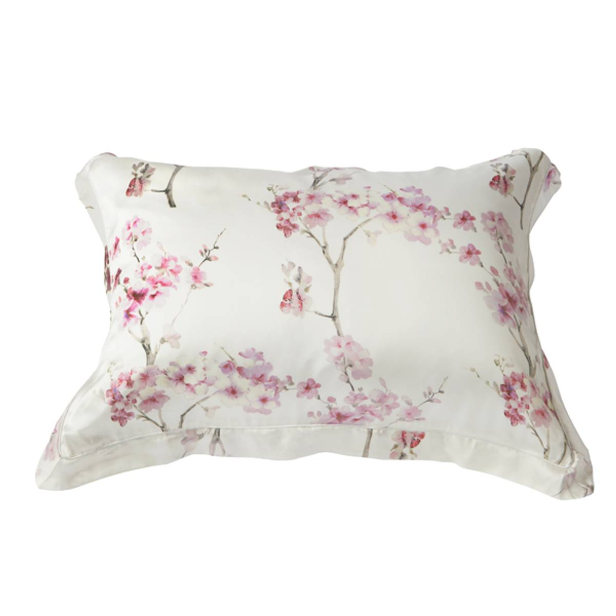 Silkeputetrekk - rosa print