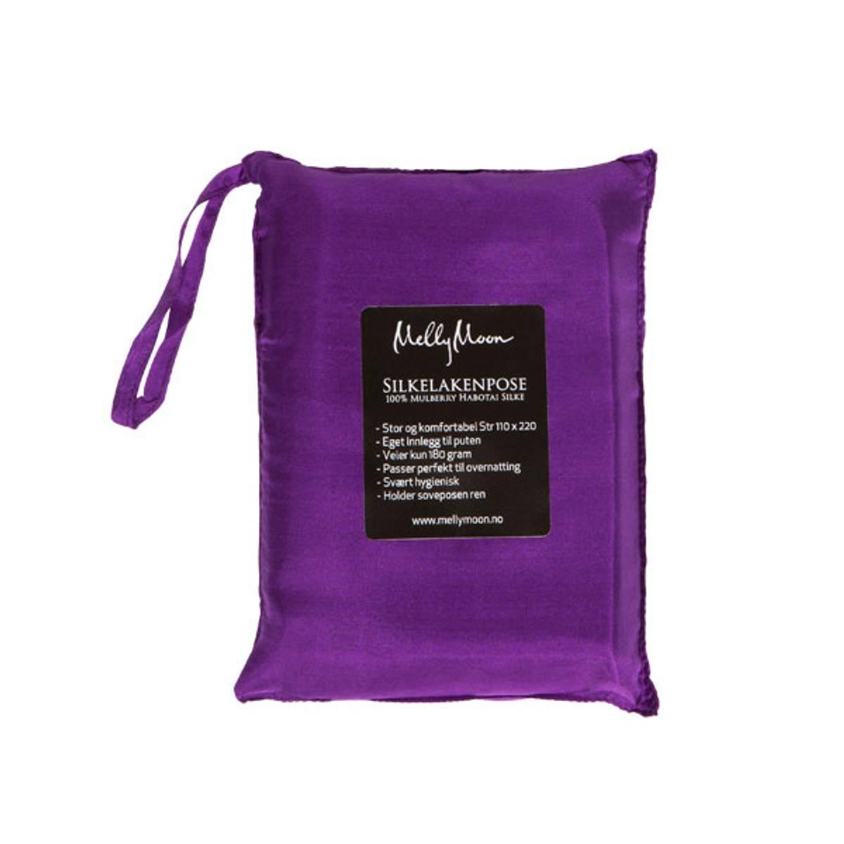 Silkelakenpose - lilla