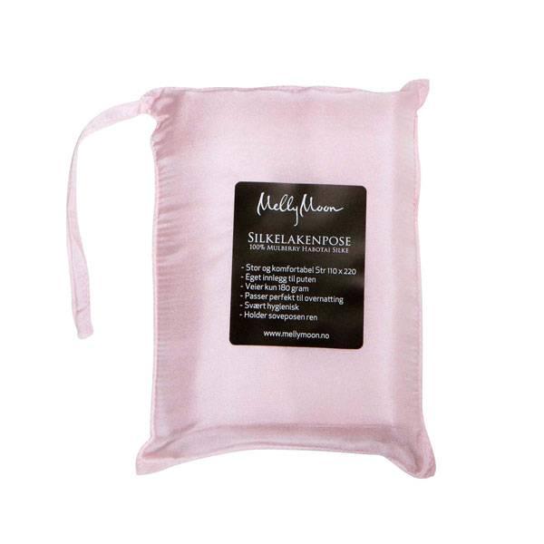 Bilde av Silkelakenpose - lys rosa