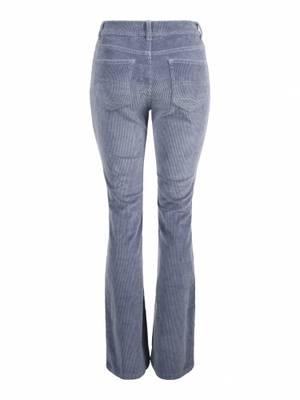 Bilde av HAUST - Cord Flare Trouser Blue