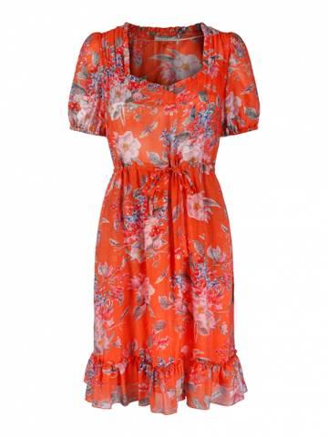 Bilde av HAUST - Ruffle Summer Dress