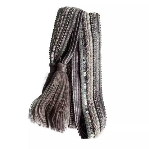Bilde av NORA NORWAY - Belte Knit Tassle Grey