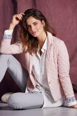 Bilde av IN FRONT - Blazer Mio Quilt Soft Rose