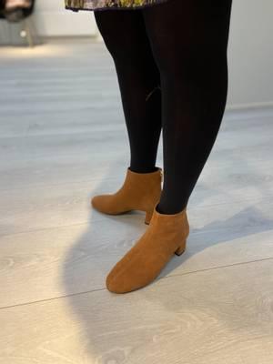 Bilde av ILSE JACOBSEN BOOT - High Heel Ankle Boot Burnt