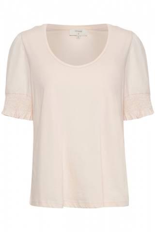 Bilde av CREAM - T-skjorte Nanna Pink Sand