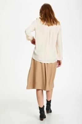 Bilde av SAINT TROPEZ - Bluse Briana LS Creme