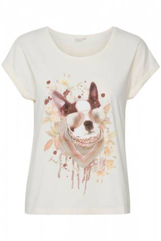 Bilde av CREAM - T-skjorte Mixa Eggnog Dog