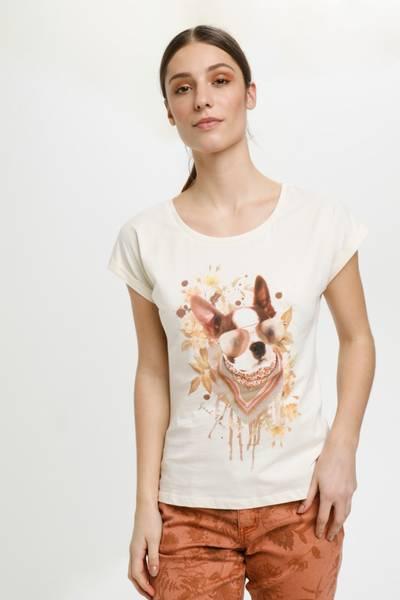 CREAM - T-skjorte Mixa Eggnog Dog