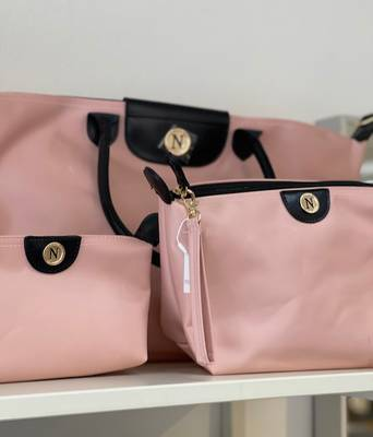 Bilde av NORA NORWAY - City Weekend Bag Light Pink